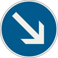 Prikázaný smer obchádzania