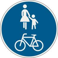 Spoločná cestička pre chodcov a cyklistov