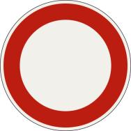 Zákaz vjazdu pre všetky vozidlá