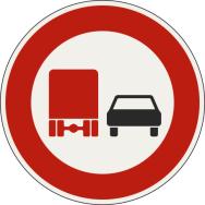 Zákaz predchádzania pre nákladné vozidlá