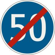 Koniec najnižšej dovolenej rýchlosti