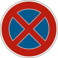 Zákaz zastavenia
