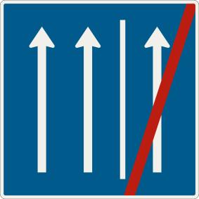 Koniec jazdy po krajnici
