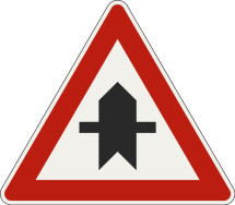 Križovatka s prednosťou v jazde