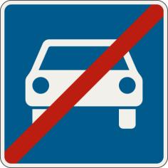 Koniec cesty pre motorové vozidlá