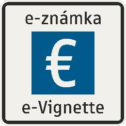 Úsek diaľnice spoplatnený diaľničnou známkou