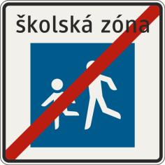 Koniec školskej zóny