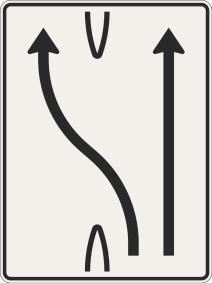Presmerovanie jazdných pruhov