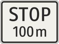Vzdialenosť k povinnému zastaveniu