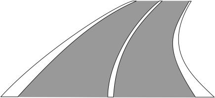 Pozdĺžna súvislá čiara