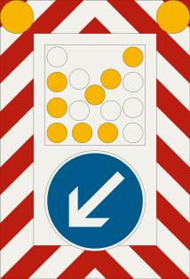 Pojazdná uzávierková tabuľa