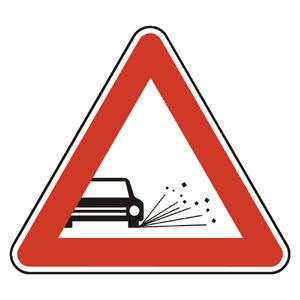 A11: Odletujúci štrk