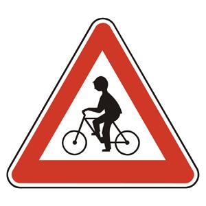 A16: Pozor, cyklisti