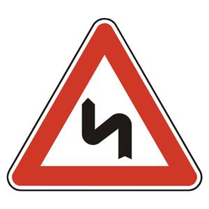 A2b: Dvojitá zákruta, prvá vľavo