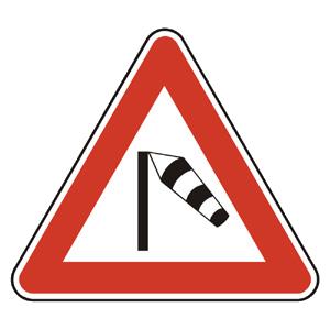 A32: Bočný vietor