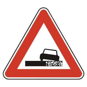 A7: Nebezpečná krajnica