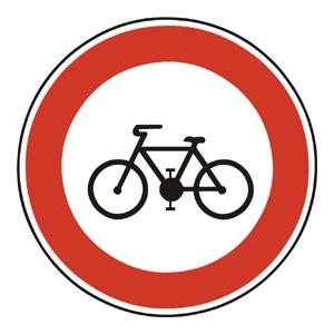 B11: Zákaz vjazdu bicyklov