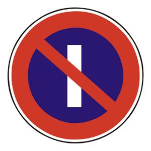 B35: Zákaz státia v nepárnych dňoch