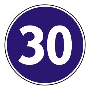 C15: Najnižšia dovolená rýchlosť