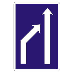 C22b: Zníženie počtu jazdných pruhov