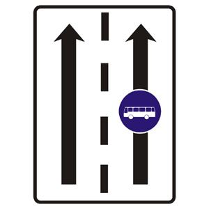 C24a: Vyhradený jazdný pruh