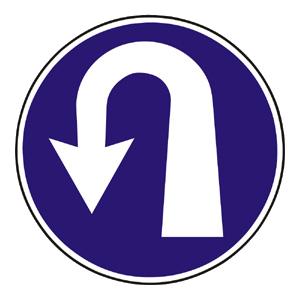 C5: Prikázaný smer otáčania