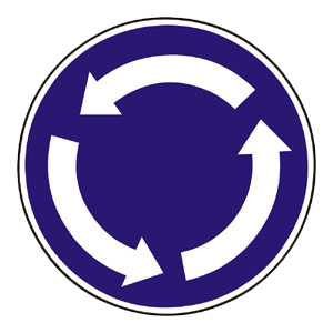 C7: Kruhový objazd