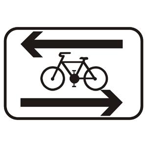 E16d: Priečna jazda cyklistov