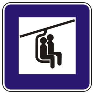 II17b: Sedačková lanovka