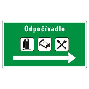 II18c: Odpočívadlo s objektmi služieb (vzor)