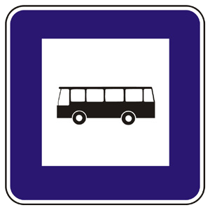 II7a: Zastávka autobusu