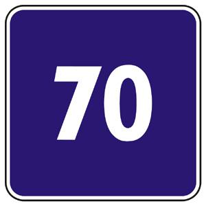 IP10: Odporúčaná rýchlosť