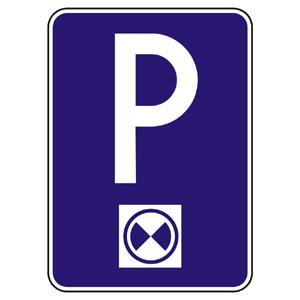IP17b: Platené parkovisko (parkovacie miesta s regulovaným státím)
