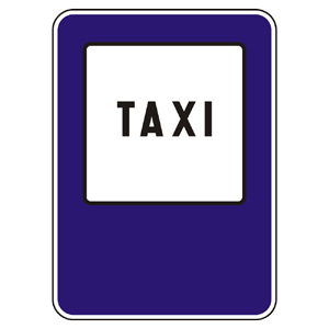IP20b: Stanovište taxi