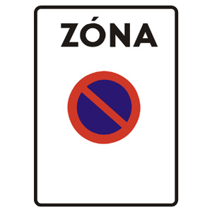 IP24a: Zóna s dopravným obmedzením
