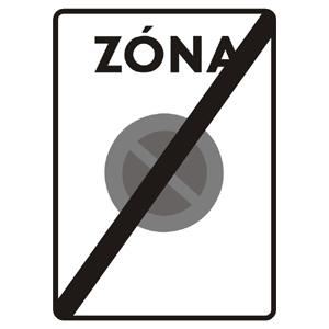 IP24b: Koniec zóny s dopravným obmedzením