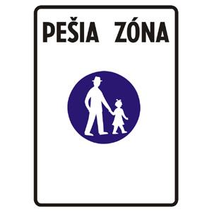 IP25a: Pešia zóna
