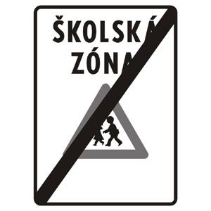 IP26b: Koniec školskej zóny