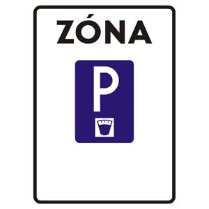 IP27a: Zóna s plateným parkovaním