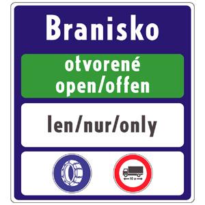 IP34a: Všeobecné informácie o dopravných obmedzeniach