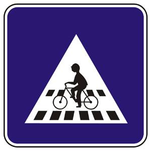 IP7: Priechod pre cyklistov