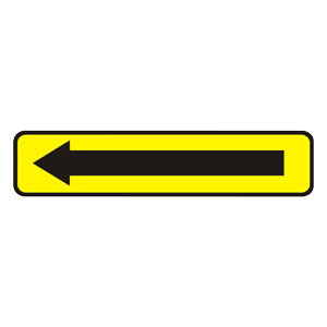 IS26: Smerová tabuľa na vyznačenie obchádzky
