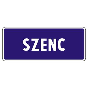 IS37a: Označenie začiatku obce v jazyku maďarskej menšiny
