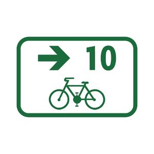 IS40h: Smerová tabuľa pre cyklistov
