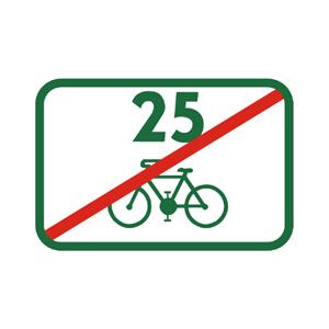 IS40i: Koniec cyklistickej trasy