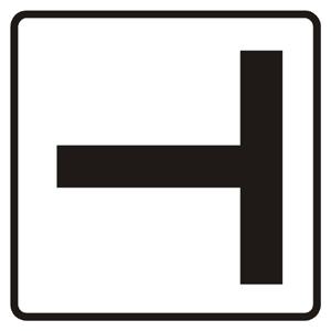 P12: Tvar križovatky (vzor)