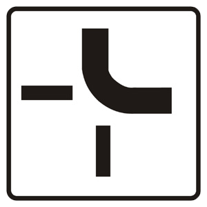 P13: Tvar križovatky (vzor)