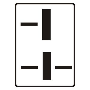 P15: Tvar križovatky (vzor)