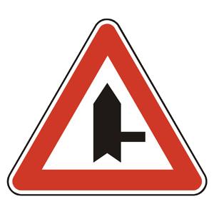 P6: Križovatka s vedľajšou cestou (vzor)