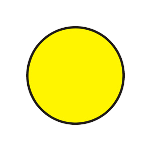 Doplnkový signál s plným prerušovaným žltým svetlom